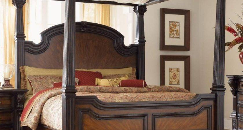 Awesome Canopy Drapes King Bed Elegant Cream