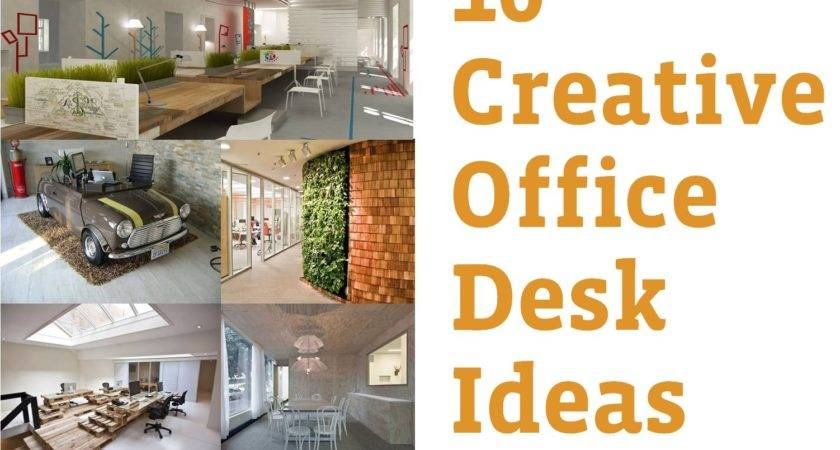 Awesome Creative Office Desk Ideas