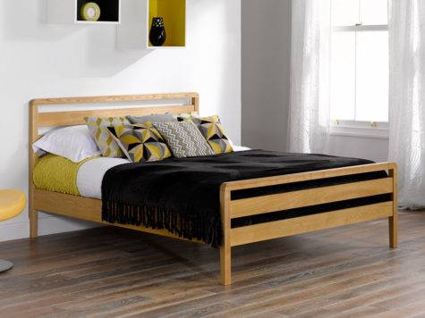 Awesome Double Bed Frame Shared Room Design