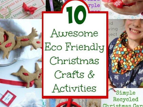 Awesome Eco Friendly Christmas Crafts Activities