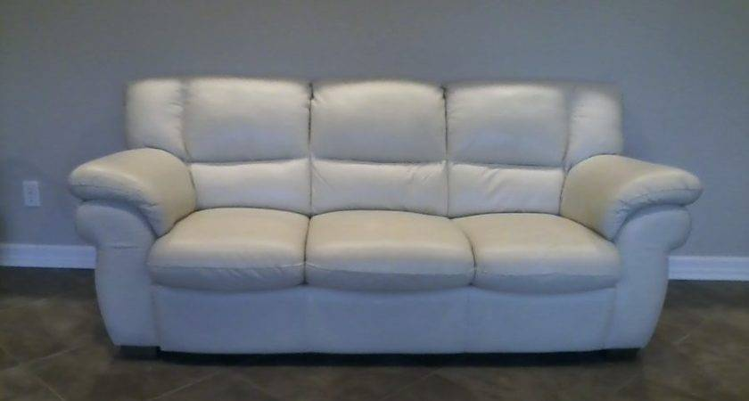 Awesome Leather Couch Loveseat Chair Nebraska Beaver