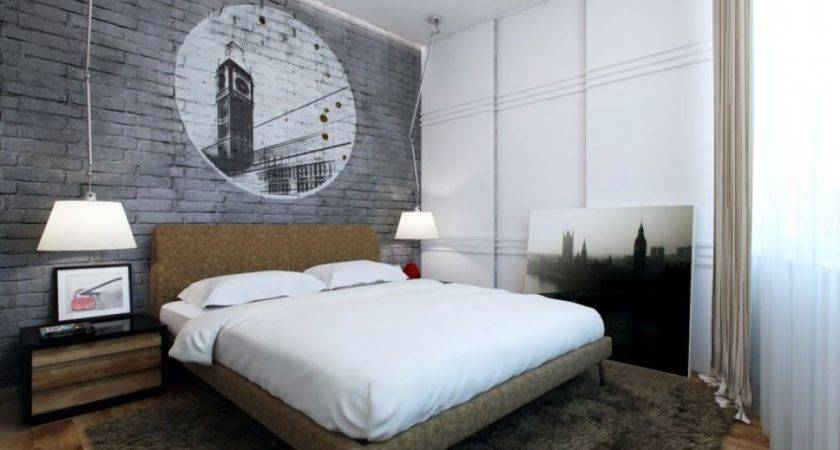 Awesome Men Bedroom Exclusive Furniture Charcoal