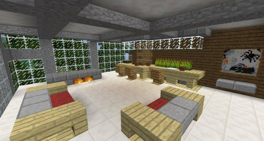 Awesome Minecraft Videos Modern Living Room Ideas