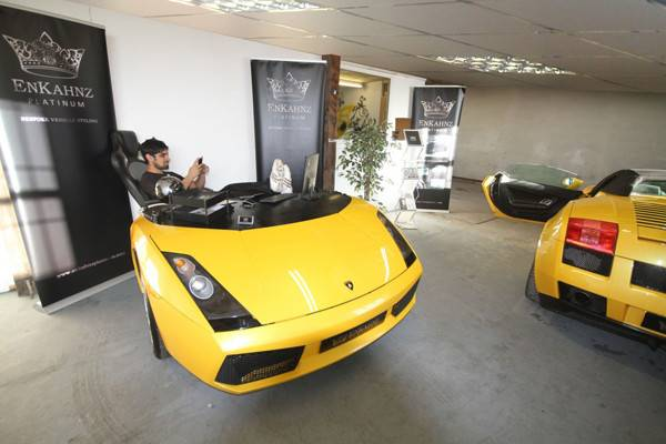 Awesome Office Desks Made Repurposed Cars