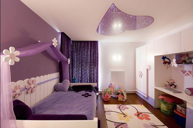 Awesome Purple Girls Bedroom Designs Viral Story