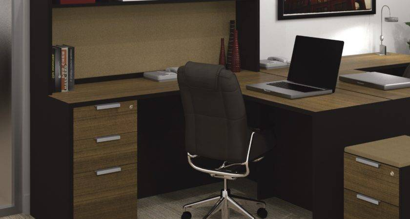Awesome Shaped Office Desks Hutch Home Wuyizz
