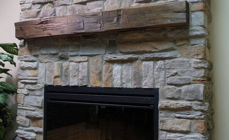 Awesome Uncategorized Great Best Faux Stone Fireplaces