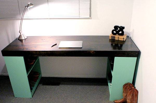 Back Diy Office Desks Modern Home