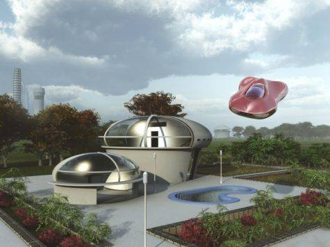 Back Future Futuristic Homes Zing Blog