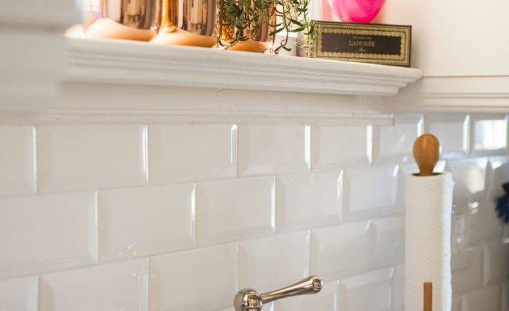 Backsplash White Kitchen Subway Tile