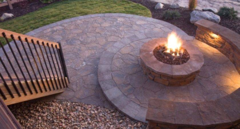 Backyard Fire Pit Ideas Landscaping Creative Mom