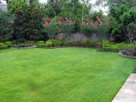 Backyard Landscape Design Rustic