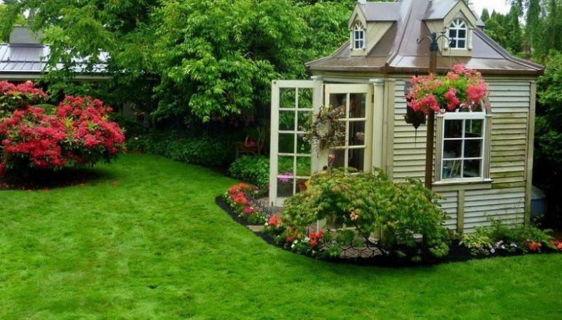Backyard Landscaping Design Ideas Charming Cottages Sheds
