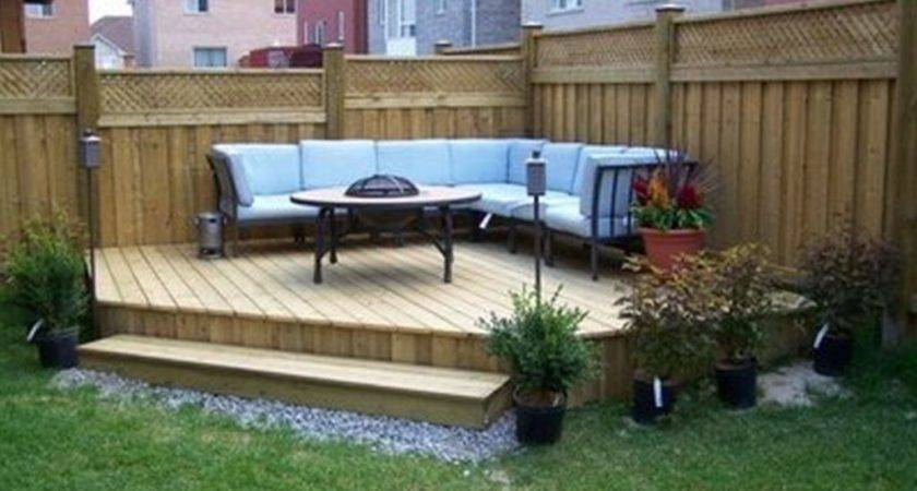 Backyard Patio Ideas Small Spaces Budget