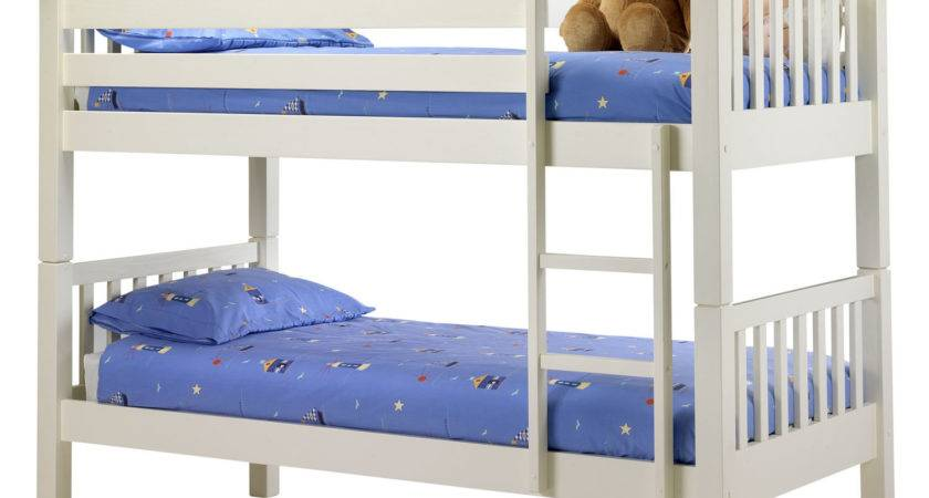 Barcelona Off White Bunk Bed Next Day Delivery
