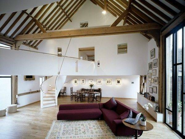 Barn Turned Into Contemporary Home Surrey England