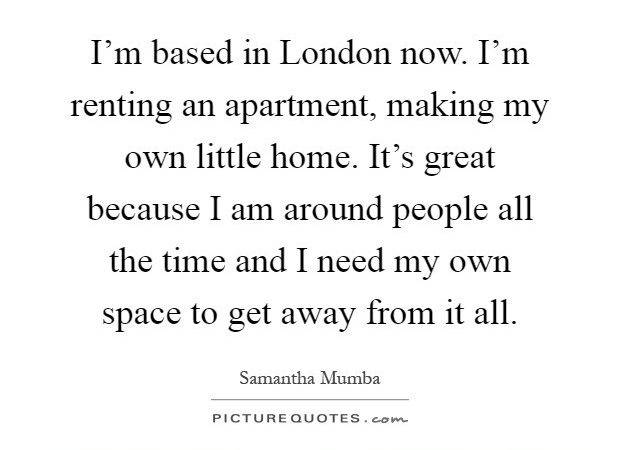 Based London Now Renting Apartment