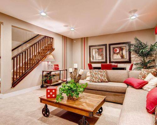 Basement Living Room Design Ideas Remodel Houzz