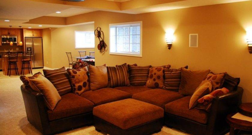 Basement Living Room Ideas Modern House