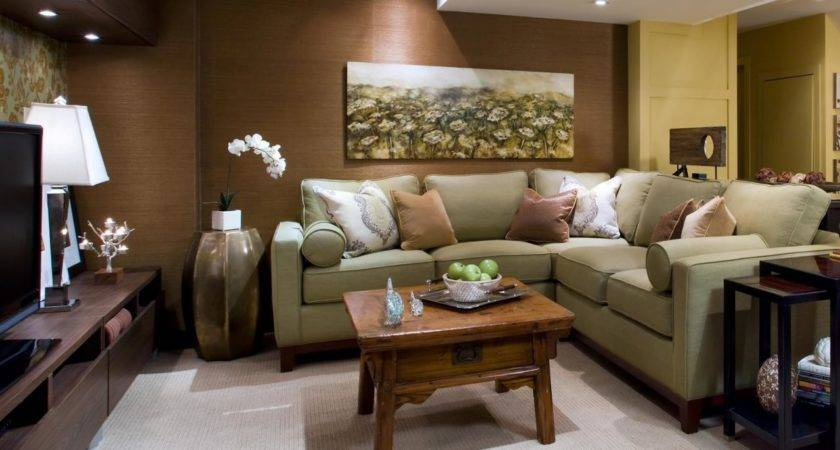 Basement Renovation Transforms Cold Space Into Warm