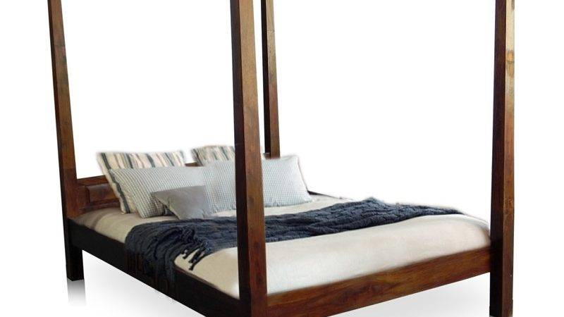 Basil Compact Four Poster Queen Bed Mudra