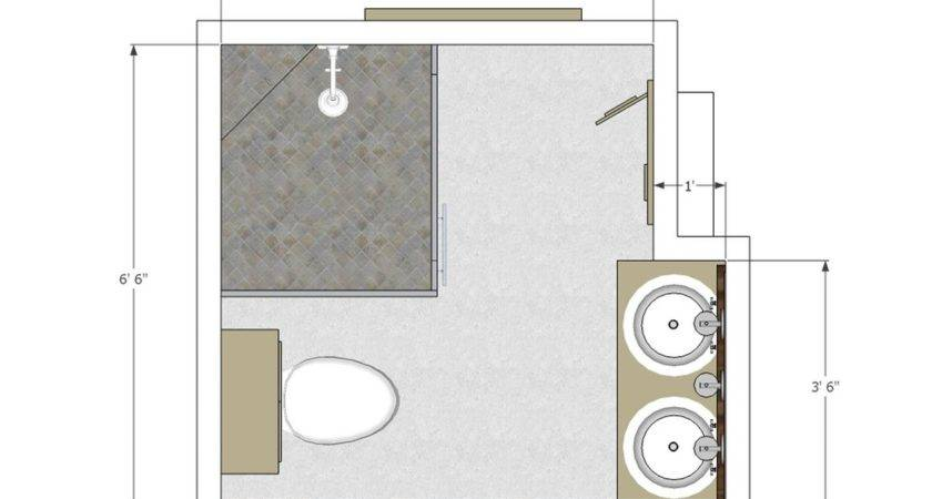 Bathroom Exciting Small Layout Modern