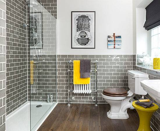 Bathroom Ideas Make Most Bright Colours Ideal Home