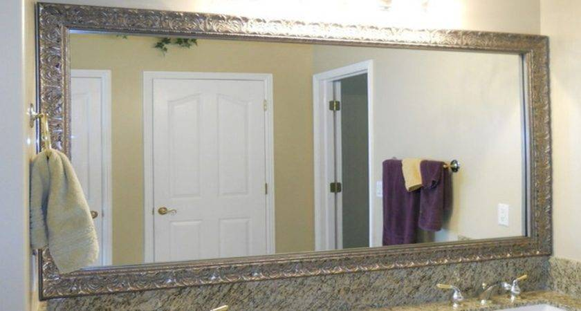 Bathroom Mirror Ideas Wall Interior