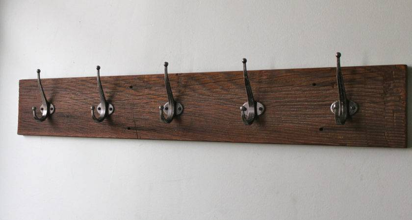 Bathroom Modern Wall Mounted Coat Rack Ideas Impress