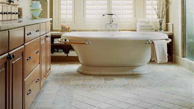 Bathroom Perfect Tile Floor Designs