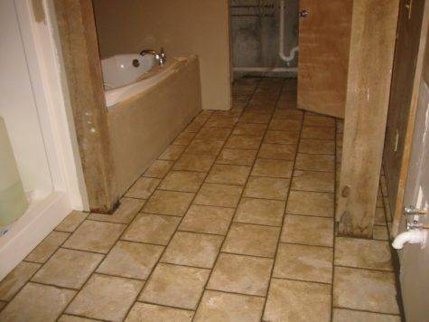 Bathroom Tile Info