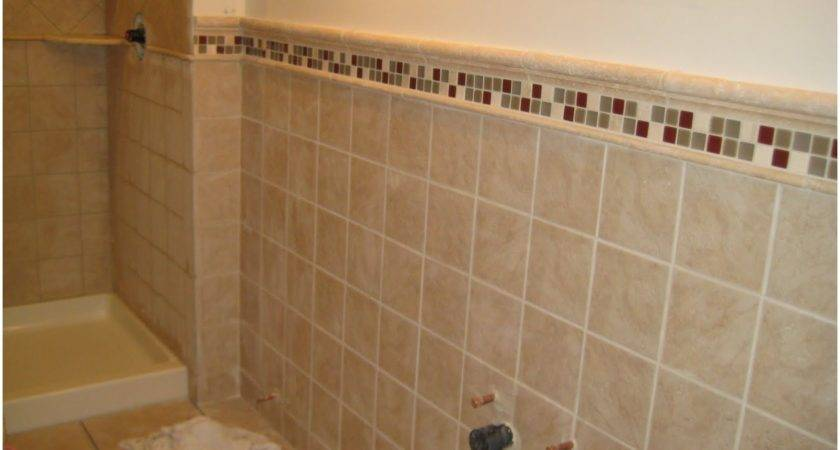 Bathroom Wall Tile Border Ideas Shower