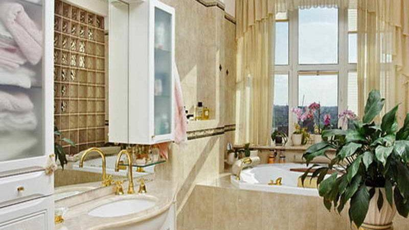 Bathroom Window Treatments Ideas Sink