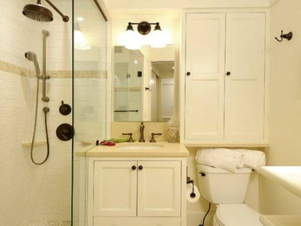 Bathrooms Small Spaces Grasscloth