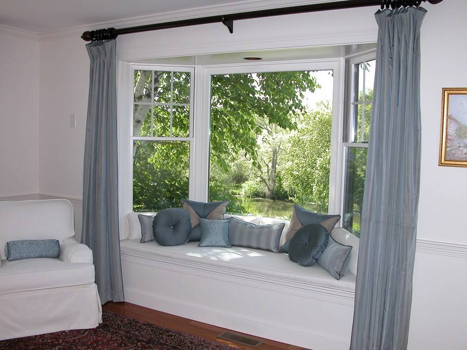 Bay Window Curtains Ideas Privacy Beauty - The Inductive