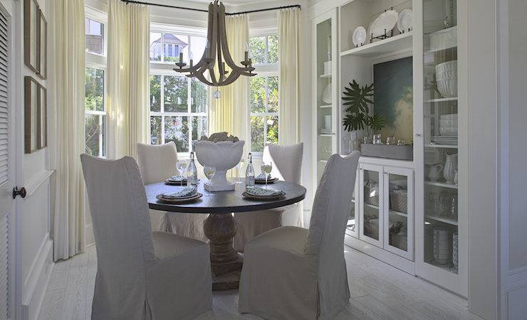 Bay Window Dining Table Cottage Room Urban