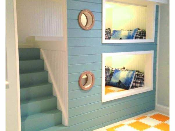 Beautiful Cool Bunk Beds Stairs Ideas Home