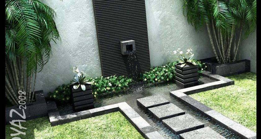Beautiful Courtyard Design Landscaping Ideas Stone