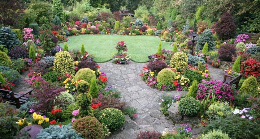 Beautiful English Garden
