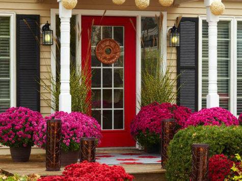 Beautiful Front Door Decorations Designs Ideas