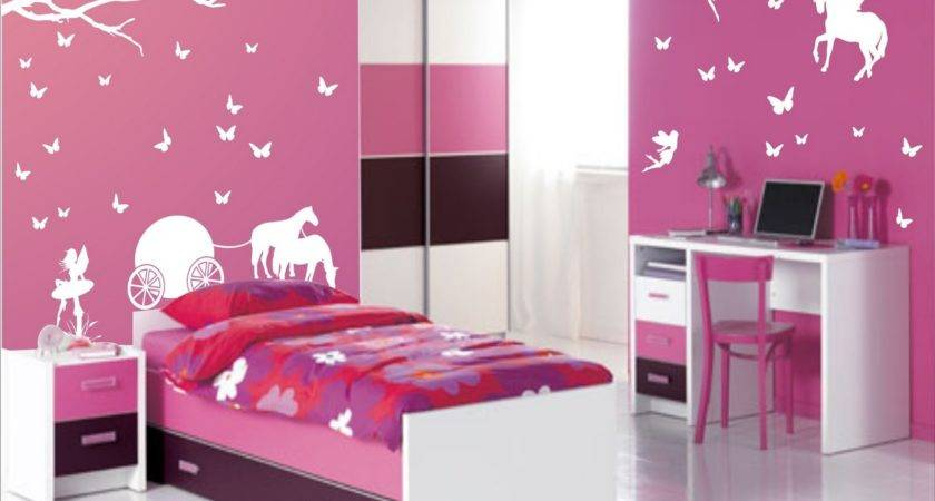 Beautiful Girl Room Decor Interior Design
