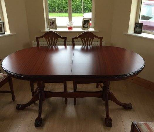 Beautiful Mahogany Dining Table Chairs Sale