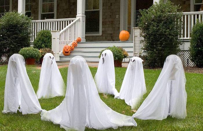 Beautiful Outdoor Halloween Decorating Ideas Interior