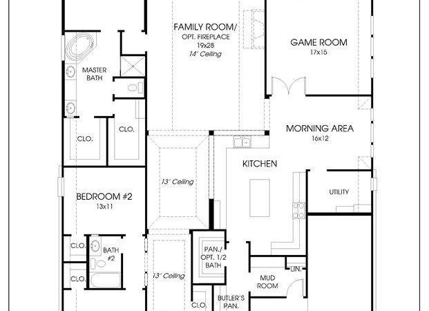 Beautiful Perry Homes Floor Plans New Home Design