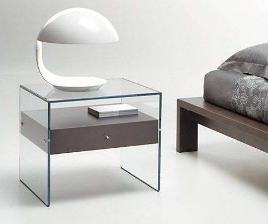 Beautiful Persuasion Home Theater Side Bed Glass Table