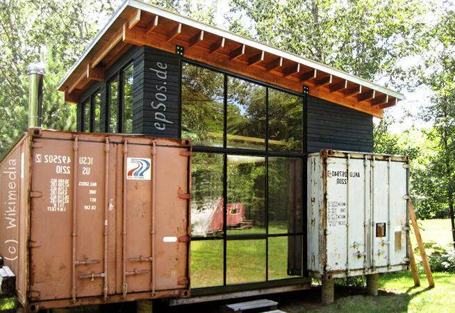 Beautiful Shipping Container House Designs Epsos