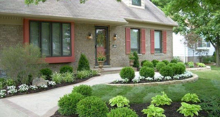Beautiful Simple Front Yard Landscaping Design Ideas