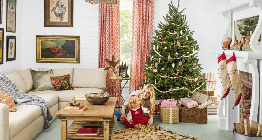 Beautiful Ways Decorate Christmas Living Room