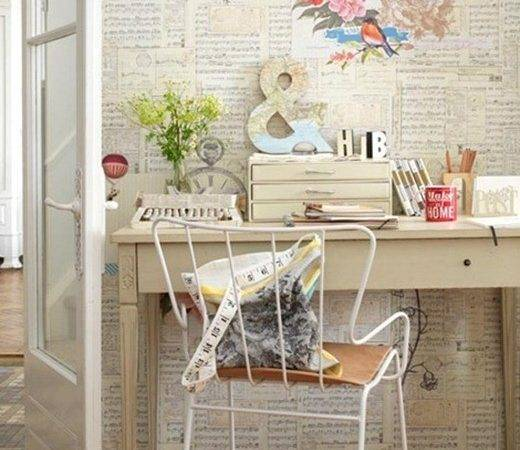 Beautiful Workspaces Crafty Chic