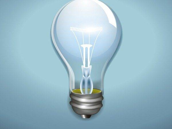 Beautifully Light Bulb Design Vector Graphics